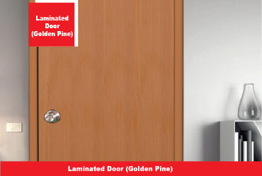 Laminated Door (Golden Pine)
